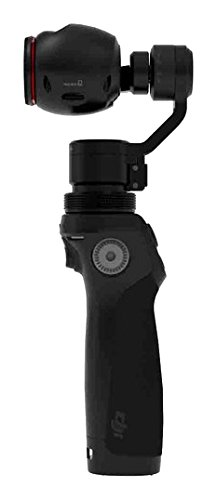 DJI Osmo Mobile - Gimbal Handkamerastabilisator für Apple iPhone I Smart Motion Kamera mit integrierten Zoomregler - Schwarz