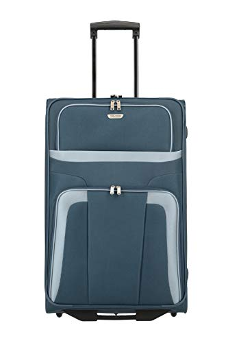 194783eac Travelite Roller Case 098489 Orlando 2 Wheel Trolley Large 80 Liters Blue  (Marine) 82780