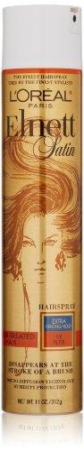 Loreal Elnett Satin (L'Oreal Paris Elnett Satin Hairspray Extra Strong Hold With UV Filter Treated Hair 310g (Haarspray))
