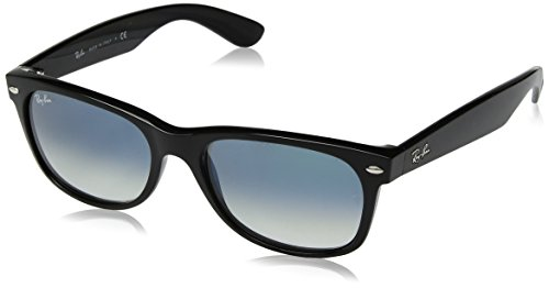 Ray-Ban UV protected Wayfarer Men Sunglasses (0RB213290152|51 millimeters|Crystal Black) image