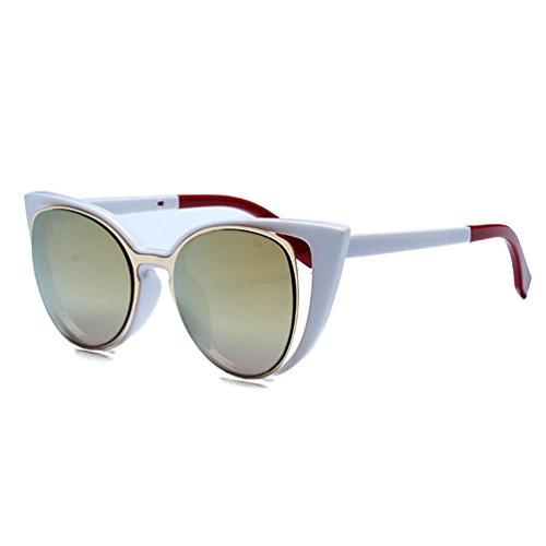 Tansle Damen Sonnenbrille, Gold