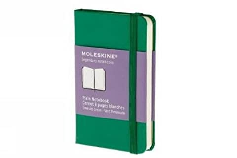 Moleskine farbiges Notizbuch (XS, Hardcover, blanko)