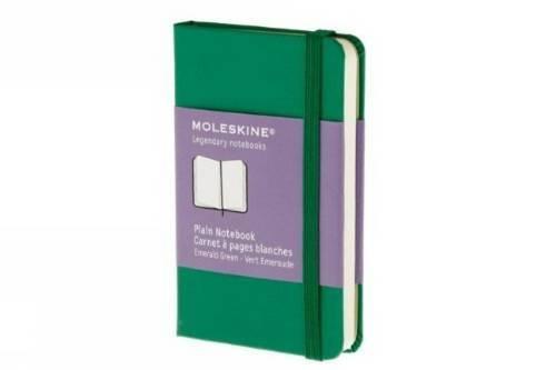 Plain notebook extra small, grass green