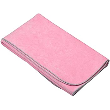 WEISSMULLER Quick Dry Microfibre Sports Towel, Large, Pink (80 x 130 cm)
