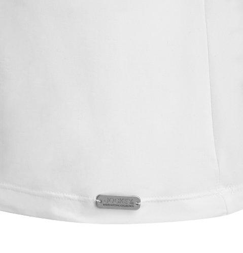 Jockey® Herren, Microfiber Athletic Shirt, 22311616 Weiß
