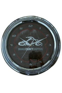 Orange County Choppers Snake Skin Metal Wanduhr (Snake Skin Uhr)