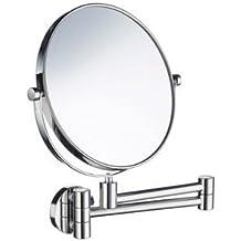 Smedbo FK438 Shav/Mak Up Mirror 15 Polished Chrome 5X Mag by Smedbo