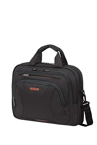 American Tourister at Work Aktentasche, 39 cm, 10 Liter, Black/Orange -