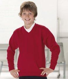 JerzeesMädchen Sweatshirt Violett Violett (Jerzees-baumwolle-pullover)