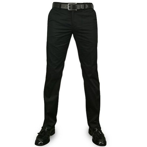 Merc London Sta Press Hose Winston Mod Schwarz - 36
