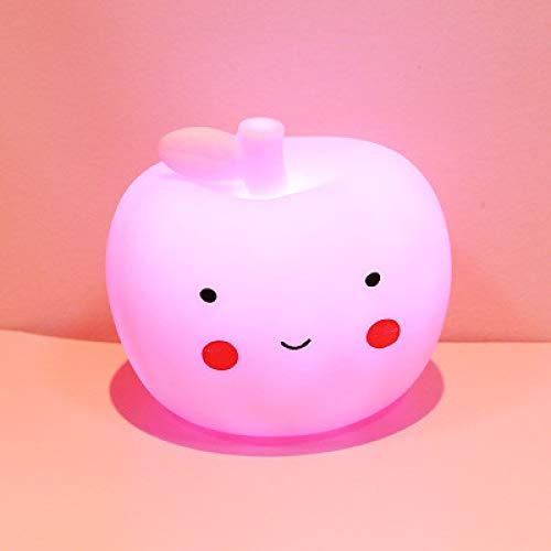 Creative Star Moonlight Cute Bedroom Decorative Light Battery Soft Girl Bedside Table Creative Lamp Energy Saving Night Light Button Type F -
