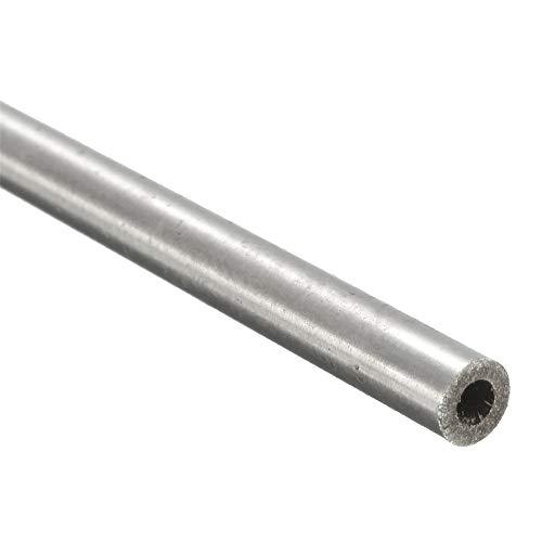 Masun Kapillarrohr aus 304 Edelstahl, 4 mm x 2 mm x 250 mm