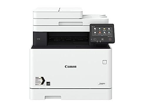 Canon i-SENSYS MF732Cdw A4 Farblaser-Multifunktionsdrucker 3-in-1 (Drucken, Kopieren, Scannen), weiß