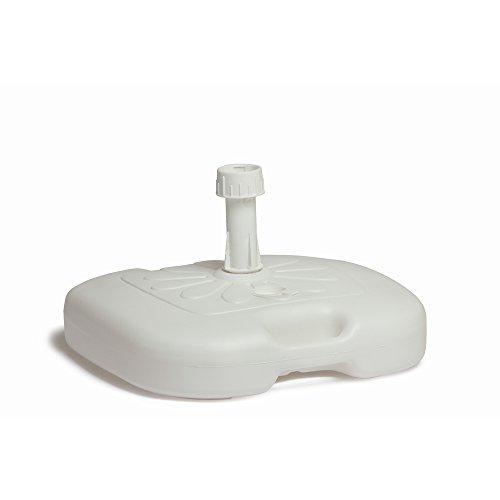 Papillon 8042650Base légère en ABS pour Parasol Blanc 20 l