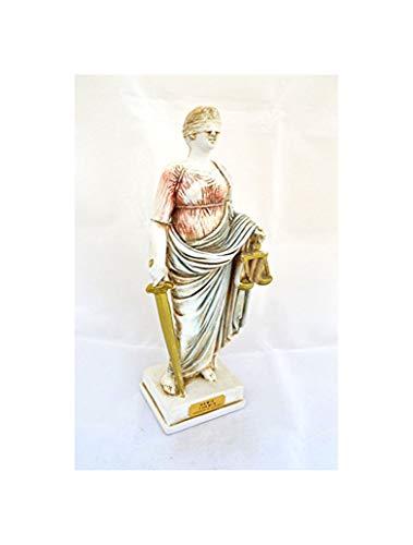 Estia Creations Themis die Göttin der Gerechtigkeit Antike Griechische Skulptur Statue