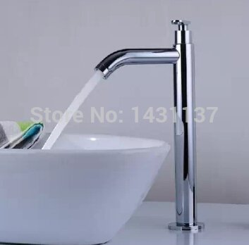 tourmeler High Quality Stainless Steel Material Single Cold simple basin faucet bathroom faucet tap Mixer
