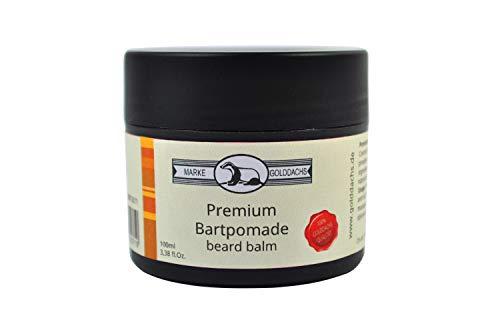 Golddachs Premium Bartpomade in der Kunststoffdose