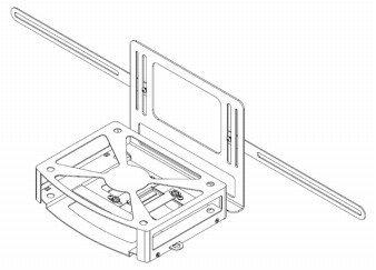 Cisco DMP-PRCASE-4400-S1 Protective Case Mount, Series 1 Befestigungskit für AV-Empfänger Dmp-serie
