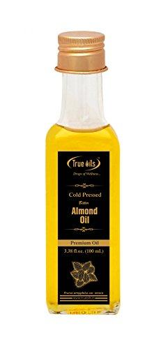 True huiles Pressée à Froid l'huile d'amande Amère rhodié Fl. oz (100ml) pour...