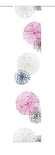 Home fashion 87999–713h: 300x b: 60cm tenda a pannello con rawlins, tessuto decorativo, lilla