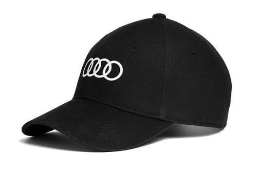 Preisvergleich Produktbild Audi original Unisex Baseballkappe (Schwarz)