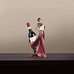Stilvolle Einfachheit Schönheit Falten Weinregal Weinkühler Dekorationen Einweihungsparty Geschenk Europa und Heimat zu Heiraten Kreative Handwerk Ornamente Handgefertigten Harz Schön und Elegant, H