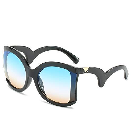 Platz Elegante Damen Sonnenbrille Damen Luxus Big Sonnenbrillen weiblich Jahrgang Shades Brillen, 2