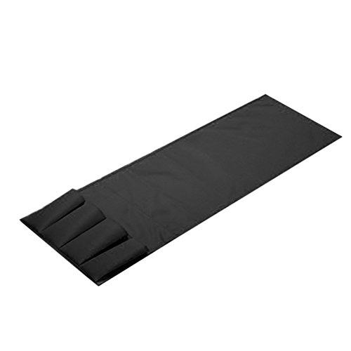 Organizzatore oggetti per divano winomo portaoggetti con 4 tasche per telecomandi in nero