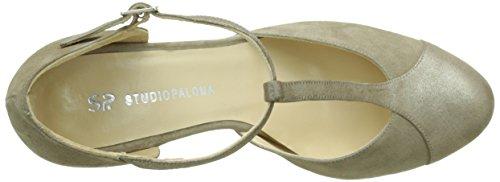 Studio Paloma18841 - Scarpe col tacco Donna Grigio (Gris (Ante Corda Puffe 1453))