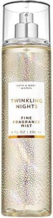 Bath and Body Works Twinkling Nights Fine Fragrance Mist 2019 Editions 236ml