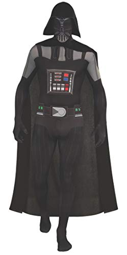 Rubie' s Costume Ufficiale Adulto, Darth Vader Second Skin-1,60m/1,80m