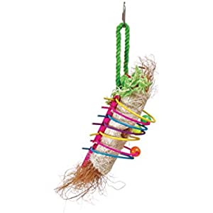 Prevue Pet Products Tropical plagegeistern Rings of Fire Bird Toy, multicolor
