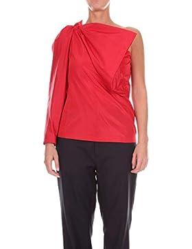 Stella McCartney Mujer 517232SKA376400 Rojo Seda Top
