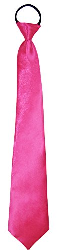 Neon Krawatte zum Show Kostüm für Erwachsene - Pink