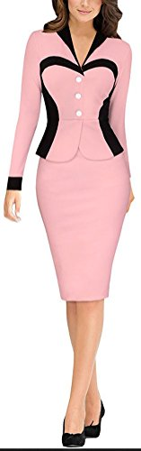 SunIfSnow Damen Schlauch Kleid, Einfarbig Gr. XXL, (Dress Up Tank Top Pink)