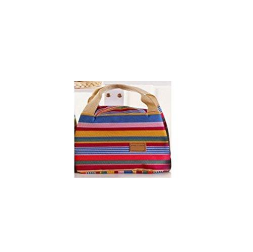 Top Shop Kühltasche Lunchbox A Reißverschluss Behälter inklusive 20,5x 16x 14,5cm