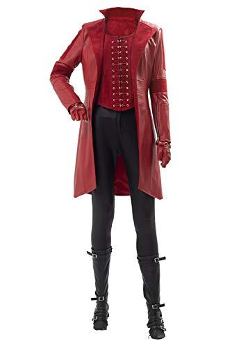 Kostüm Scarlet - MingoTor Superheldin Captain America: Civil War Scarlet Witch Cosplay Kostüm Damen M