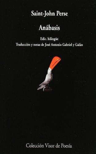 Anábasis (Visor de Poesía) por Saint-John Perse