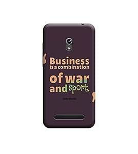 Ebby Premium 3d Desinger Printed Back Case Cover For Asus Zenfone 5 (Premium Desinger Case)