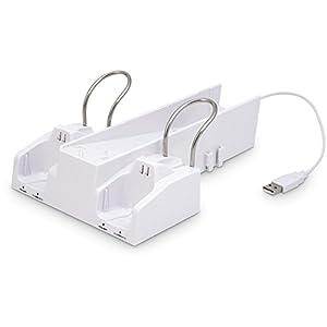 Wii – Charging Stand & Aufbewahrung für Wii und Zubehör (black/white)