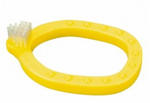 Kinderleicht 95.2847/00 - Baby-Zahnbürste, gelb