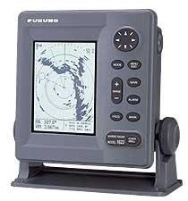 "Furuno 1623 Radar Monochrom LCD Display mit 2kW 15 \""Radom Antenne"