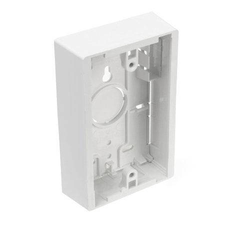 Leviton 42777-1WB Surface Mount Backbox, Single Gang, White, Box Depth Is 1.45 Inches by Leviton Gang Surface Mount Box