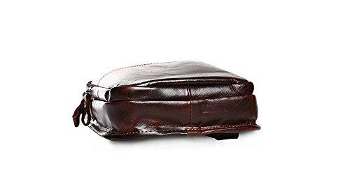Sacchetti Di Peluche In Lattice Con Sacco A Tracolla Retro Borsa In Pelle Di Peluche Marrone