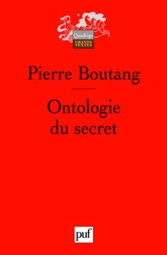 Ontologie du secret