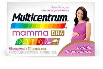 Multicentrum Mamma Dha 30+ - 30 Compresse Capsule Molli