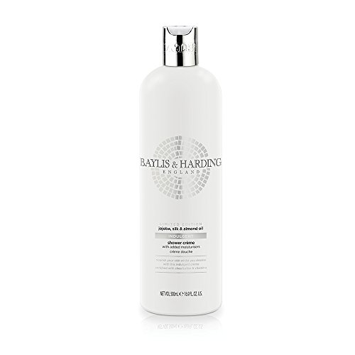 Baylis & Harding Jojoba, Silk & Almond Oil Moisturising Shower Creme, 500 ml, Pack of 3