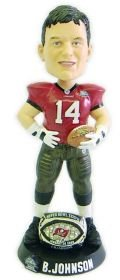 Tampa Bay Buccaneers Brad Johnson Super Bowl 37 Ring Forever Collectibles Bobble Head