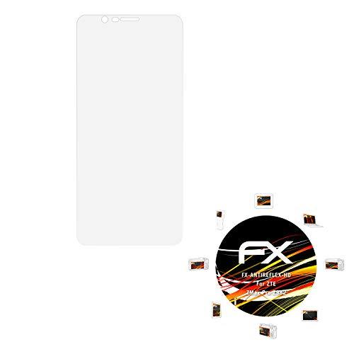Preisvergleich Produktbild atFolix Schutzfolie kompatibel mit ZTE ZMax Pro Z982 Displayschutzfolie,  HD-Entspiegelung FX Folie (3X)