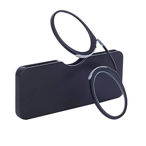 Gafas Lectura Sin Patillas Negro +3.065-69 años Hombre